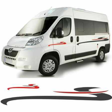 (No.743) Peugeot Boxer / Fiat Ducato / Citroen Relay Camper Van Graphics, Decals